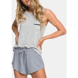 Roxy Juniors' Forbidden Summer Striped Soft Shorts found on MODAPINS from Macy's for USD $40.00