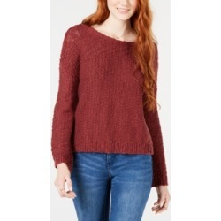 Roxy Juniors' Cotton Open-Back Sweater found on MODAPINS from Macy's for USD $49.50