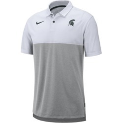 Nike Men's Michigan State Spartans Dri-Fit Colorblock Breathe Polo found on Bargain Bro India from Macy's for $75.00