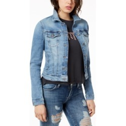 Guess Cropped Denim Jacket found on MODAPINS from Macy's for USD $98.00
