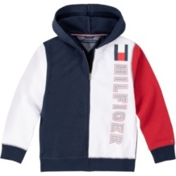 Tommy Hilfiger Little Boys Color-block Full Zip Hoodie found on Bargain Bro India from Macy's for $26.70