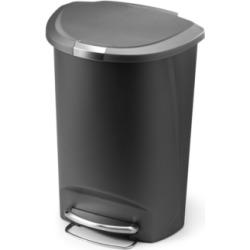simplehuman 50L Semi-Round Trash Can