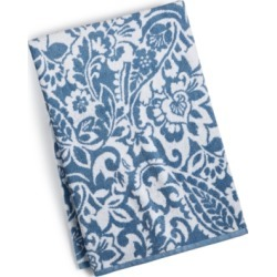 Charter Club Elite Cotton Scroll Paisley Bath Towel, Created for Macy's Bedding