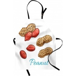Ambesonne Peanut Butter Apron