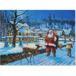 Geno Peoples 'Wont Give You My Sleigh' Canvas Art - 32