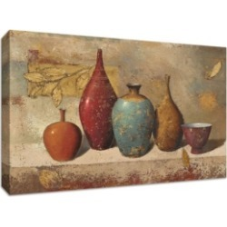 Tangletown Fine Art Leaves and Vessels by James Wiens Fine Art Giclee Print on Gallery Wrap Canvas, 30