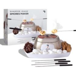 Sharper Image Electric Tabletop S'mores Maker for Indoors, 6 Piece Set