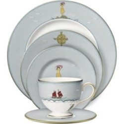 Wedgwood Sailors Farewell 5-Piece Place Setting found on Bargain Bro Philippines from Macy's for $400.00