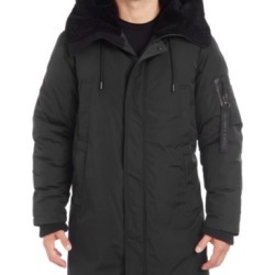 Vince Camuto Men's Long Parka with Faux Fur Lined Hood found on MODAPINS from Macys CA for USD $197.19
