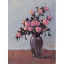 Tim Otoole Soft Lit Roses I Canvas Art - 15