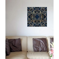 "iCanvas ""Art Deco Iii"" by Elisabeth Fredriksson Gallery-Wrapped Canvas Print (26 x 26 x 0.75)"