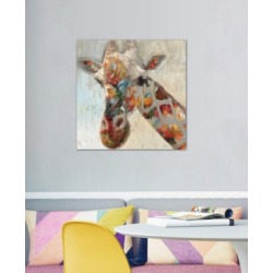 "iCanvas ""Paint Splash Giraffe"" by Nan Gallery-Wrapped Canvas Print"