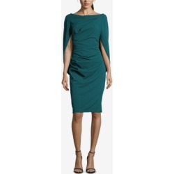 Betsy & Adam Ruched Cape Dress found on Bargain Bro India from Macys CA for $208.53