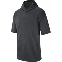 Nike Men's Michigan Wolverines Dri-fit Hooded T-Shirt found on Bargain Bro India from Macy's for $45.00