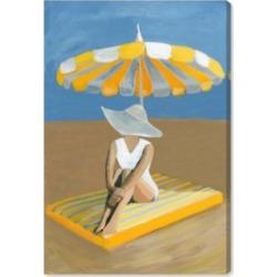 Oliver Gal Yellow Umbrella Canvas Art - 15