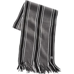 Calvin Klein Men's Striped Scarf