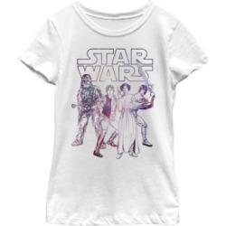 Fifth Sun Star Wars Big Girl's Rebel Heroes Battle Galaxy Logo Short Sleeve T-Shirt found on Bargain Bro India from Macys CA for $23.08