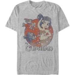 Cuphead Men's Cala Maria Airplane Attack Short Sleeve T-Shirt