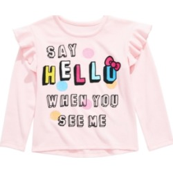 Hello Kitty Little Girls Say Hello Ruffled Top found on Bargain Bro Philippines from Macys CA for $14.22