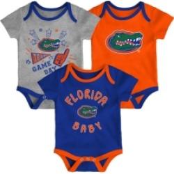 Outerstuff Newborn Girls Florida Gators 3piece Creeper Set