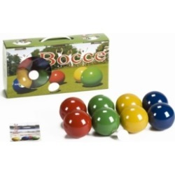 Londero Classic Bocce Solid Beechwood Outdoor Game Set