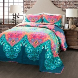 Boho Chic King Quilt 3Pc Set found on Bargain Bro India from Macy's for $155.99
