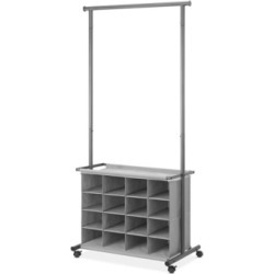 Whitmor 16-Cubby Garment Rack