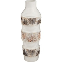Shell Vase with Gloss White