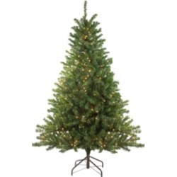 Northlight 8' Pre-Lit Canadian Pine Artificial Christmas Tree - Clear Lights