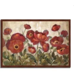 Tangletown Fine Art Daydreaming Flowers by Silvia Vassileva Framed Painting Print, 47