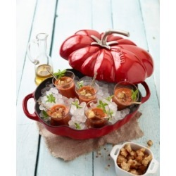 Staub Enameled Cast Iron 3-Qt. Tomato Cocotte found on Bargain Bro India from Macy's Australia for $189.74