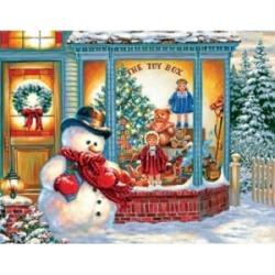 Springbok Puzzles Frosty's Toy Box 500 Piece Jigsaw Puzzle