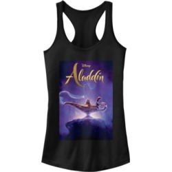 Disney Juniors' Aladdin Aladdin Live Action Cover Ideal Racerback Tank Top found on MODAPINS from Macy's for USD $24.99