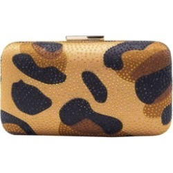 La Regale Animal Print Satin with Crystal Overlay Minaudiere found on Bargain Bro India from Macy's for $80.00