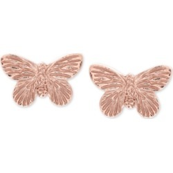 Olivia Burton Butterfly Stud Earrings in Gold-Plated Sterling Silver