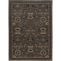 Oriental Weavers Foundry 4923E Gray/Charcoal 3'10