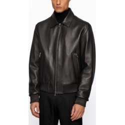 Boss Men's T-Nurey Regular-Fit Leather Jacket found on MODAPINS from Macy's for USD $1495.00