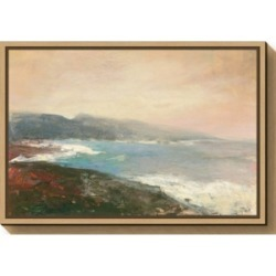 Amanti Art Lands End Crop by Julia Purinton Canvas Framed Art found on Bargain Bro India from Macy's for $85.99