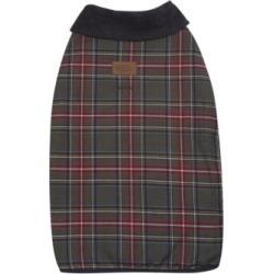 Pendleton Grey Stewart Plaid Dog Coat, Large