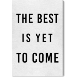 Oliver Gal The Best Is Yet To Come Canvas Art, 24