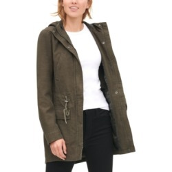 Levi's Women's Cotton Hooded Fishtail Parka Jacket found on Bargain Bro from Macy's for USD $45.59