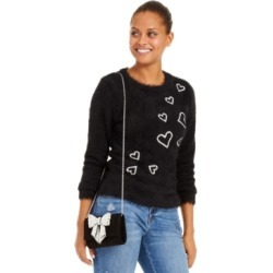 Inc Heart-Print Eyelash Sweater, Created For Macy's found on Bargain Bro Philippines from Macy's Australia for $94.62