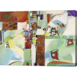 Metaverse Copper Squares by Pamela A. Johnson Canvas Art, 32