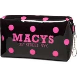 Macy's Polka Dot Makeup Bag, Created for Macy's found on MODAPINS from Macys CA for USD $15.76