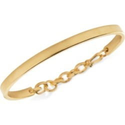 Degs & Sal Men's Chain Hook Bangle Bracelet in 14k Gold-Plated Sterling Silver found on MODAPINS from Macy's Australia for USD $313.36