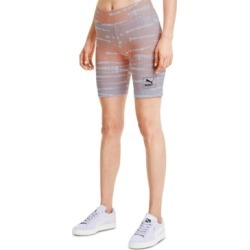 Puma Tie-Dyed Bike Shorts found on MODAPINS from Macy's for USD $35.00