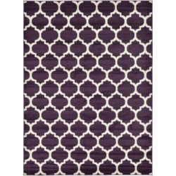 Bridgeport Home Arbor Arb1 Purple 8' x 11' Area Rug found on Bargain Bro India from Macy's for $244.50