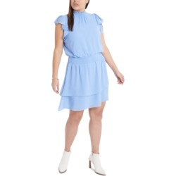 1.state Plus Size Smocked Flutter-Sleeve Dress found on Bargain Bro from Macy's Australia for USD $18.32