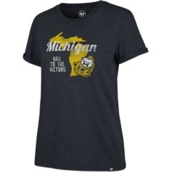 '47 Brand Women's Michigan Wolverines Regional Match Triblend T-Shirt found on Bargain Bro India from Macy's for $30.00