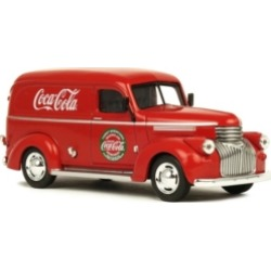 Coca-Cola 1/43 Scale 1945 Panel Delivery Diecast Van Collectible Toy Vehicle
